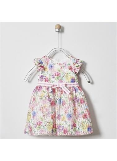 Panço Kız Bebek Parti Elbisesi 2011GB26004 Pembe
